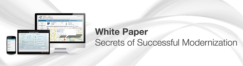 Secrets of Successful Modernization
