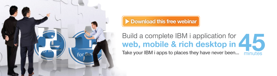How to build mind blowing IBM i apps in 45 minutes with looksoftware