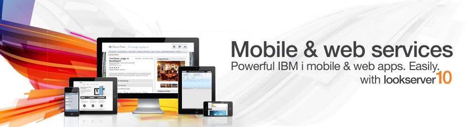Mobile and web services with lookserver 10